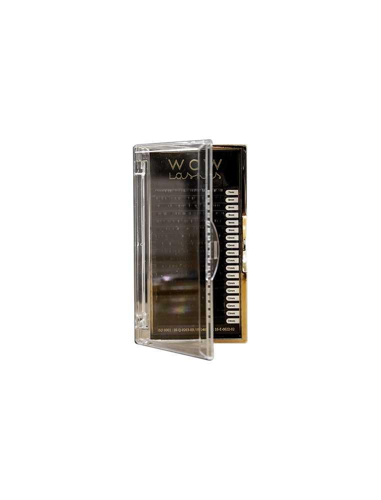 Eyelash box - D  mix 0,05 (7-14)