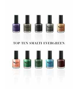 Kit Top 10 smalti Evergreen
