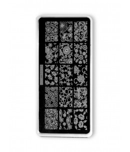 Flower Stamping Plate