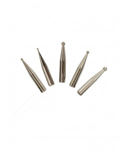 Lash silver Tweezer - punta curva