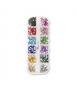 Colourful Strass Box