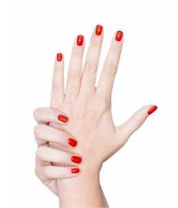 smalto unghie rosse