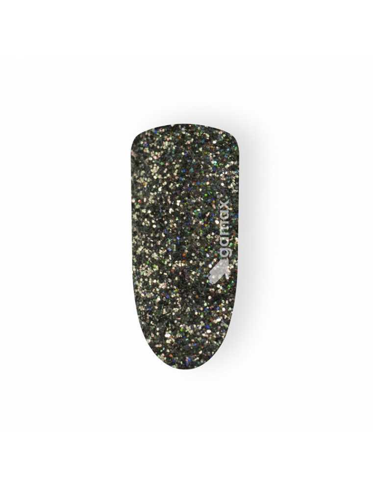 Glitter Unghie nero