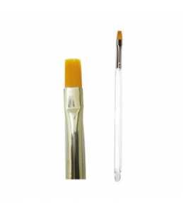 Pennello in acrilico punta dritta - mis.4