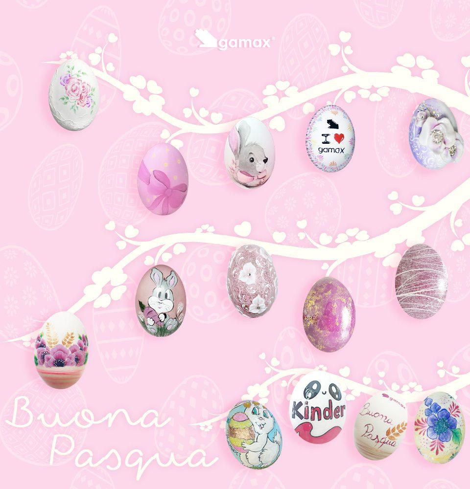 Uova Pasquali decorate