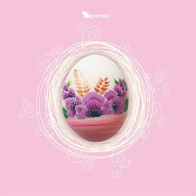 uovo pasquale dipinto