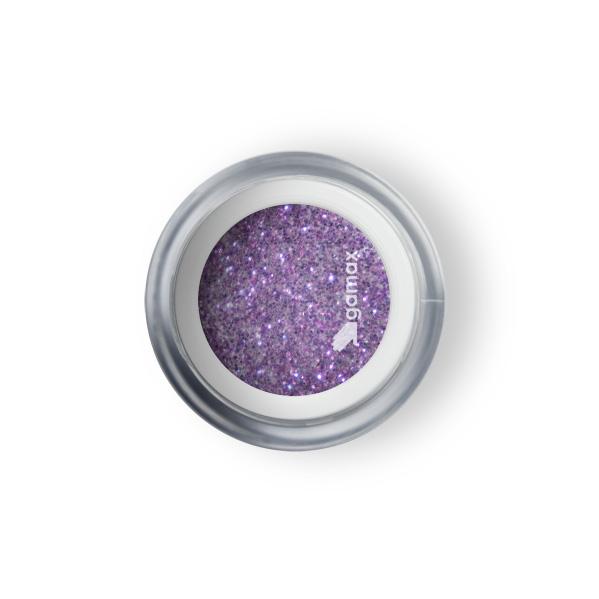 polvere acrilica viola glitter