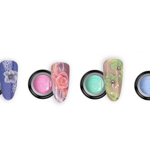 Gel Plastilina nail art