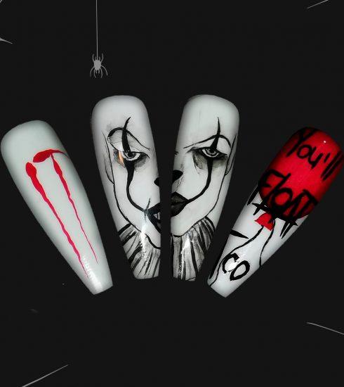 trucco e unghie Halloween