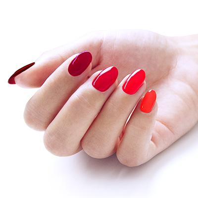 Nail Art Rosso Natalizia