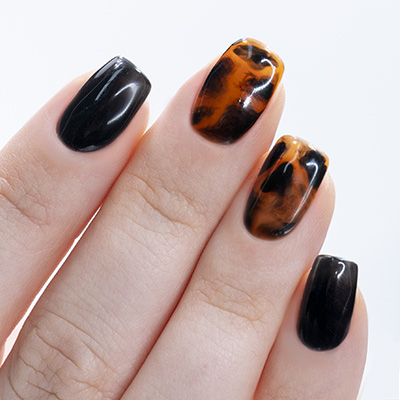 Nail Art unghie tartaruga
