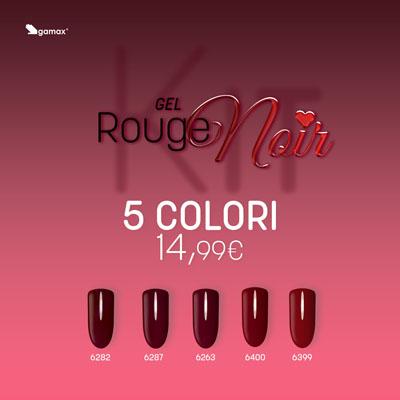 Kit Gel Colour Rouge Noir