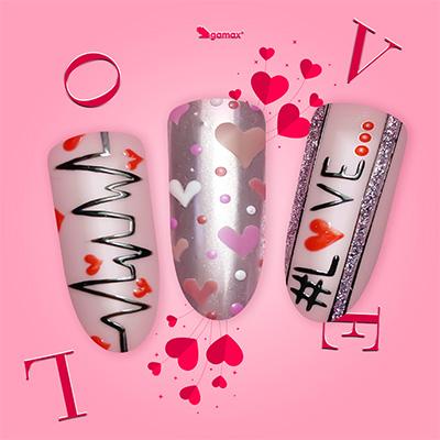 Mendi Gabrielli Nail Art di San Valentini