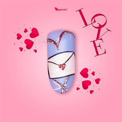 Giada Micone Nail Art di San Valentino
