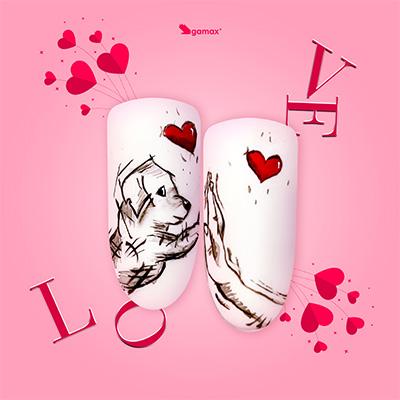 Alessandra Platone Nail Art di San Valentino