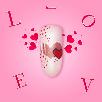 Fabrizia Verna Nail Art di San Valentino