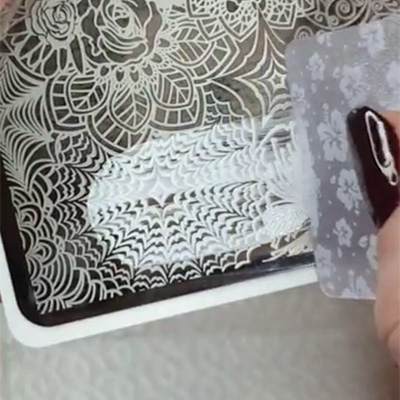 spatolina stamping unghie