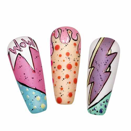 nail art semipermanenti colorati