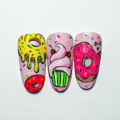 nail art sweet