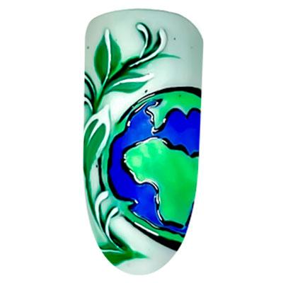 nail art earth