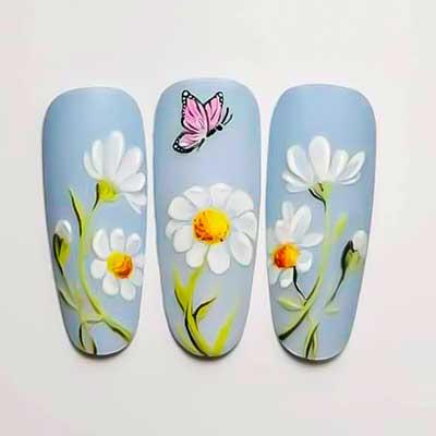 unghie primavera