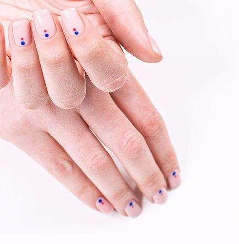 manicure primaverile