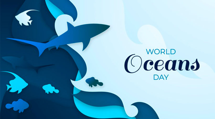 nail art giornata mondiale degli oceani