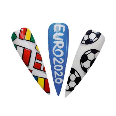 nail art euro 2020
