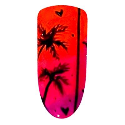 nail art palme