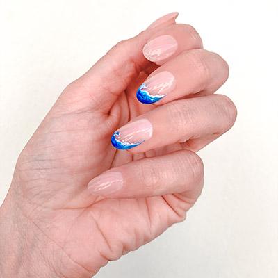 nail art onde