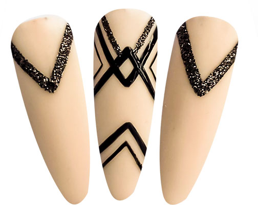 nail art e bikini