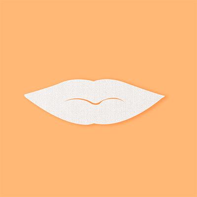 maschera labbra