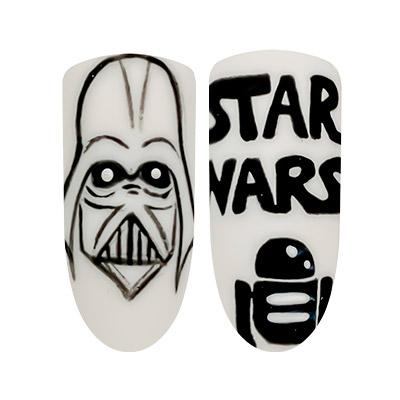 star wars day nail art