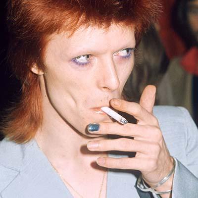 Nail Art uomo David Bowie