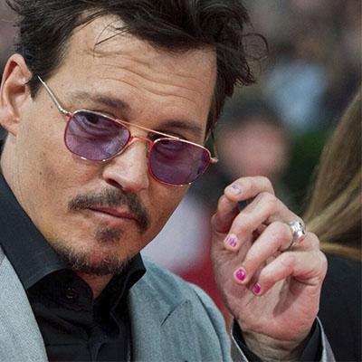 smalto uomo Johnny Depp