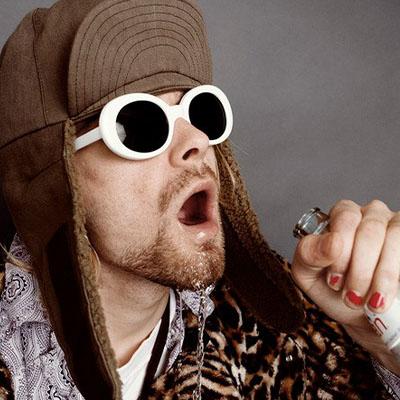 Nail Art Kurt Cobain