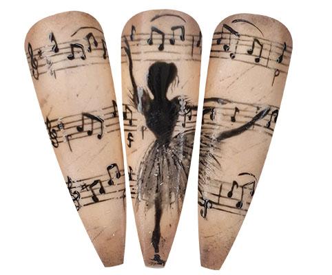 musica e unghie