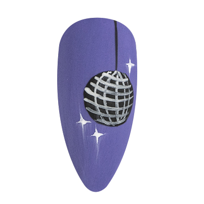 nail art disco