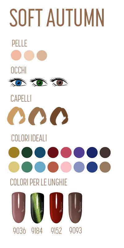 armocromia autunno soft