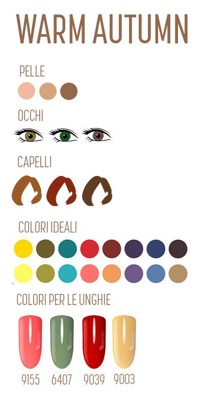 armocromia autunno warm